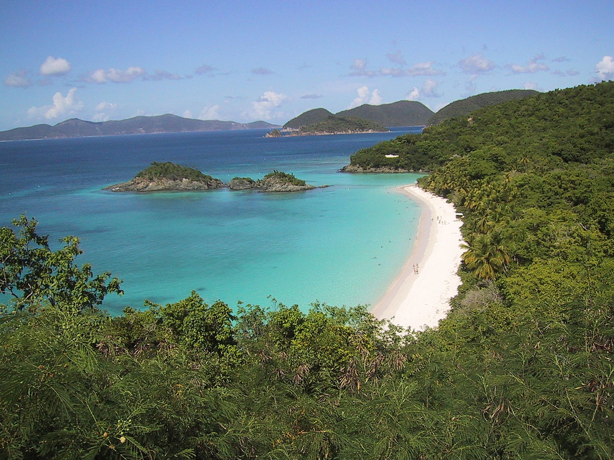 Without question, St. John is one of the nicest islands to visit in the Caribbean ... photo by CC user Ben Whitney (public domain)